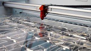 corte laser PMMA sstandem metacrilato popup banners Rollups Photocall barato sistemas soluciones
